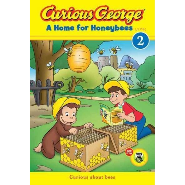 Curious George A Home for Honeybees (Curious George Early Readers) | ADLE International