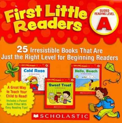 First Little Readers Guided Reading Level A: 25 Irresistible Books That Are Just the Right