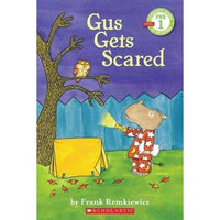 Gus Gets Scared (Scholastic Readers) | ADLE International