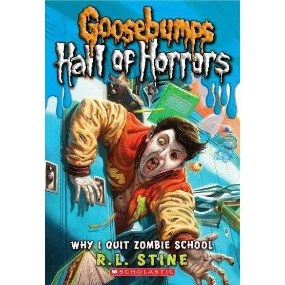 Why I Quit Zombie School (Goosebumps, Hall of Horrors) | ADLE International