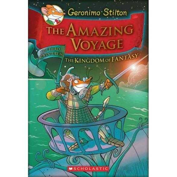 The Amazing Voyage: The Third Adventure in the Kingdom of Fantasy (Geronimo Stilton) | ADLE International