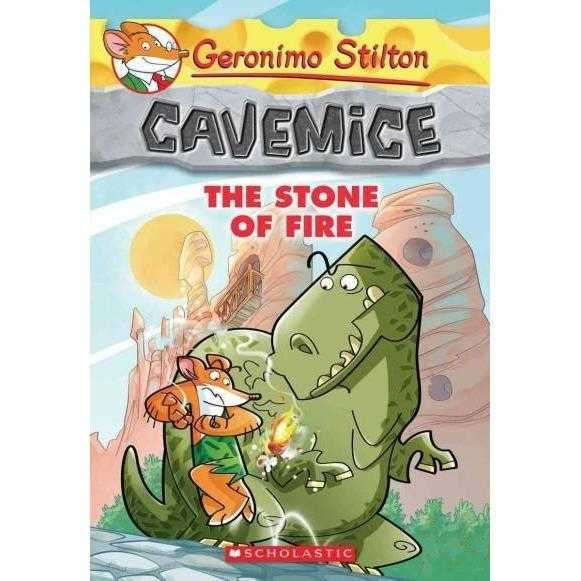 The Stone of Fire (Geronimo Stilton Cavemice) | ADLE International
