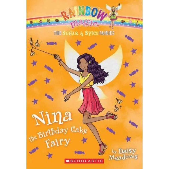 Nina the Birthday Cake Fairy (Rainbow Magic)