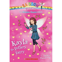 Kayla the Pottery Fairy (Rainbow Magic)