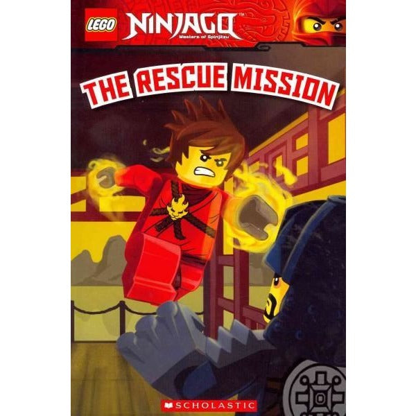 The Rescue Mission (Scholastic Readers: Lego): Lego Ninjago Reader (Scholastic Readers: Lego)
