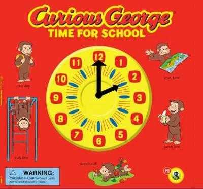 Curious George Time for School (Curious George) | ADLE International