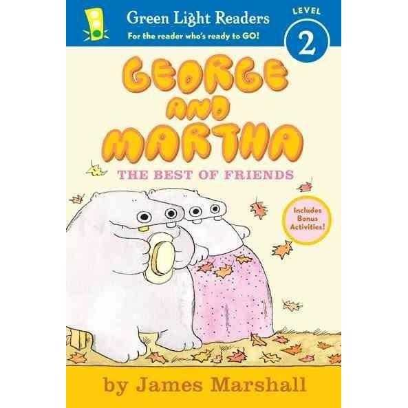 George and Martha: The Best of Friends: Early Reader 4 (Green Light Readers. Level 2)