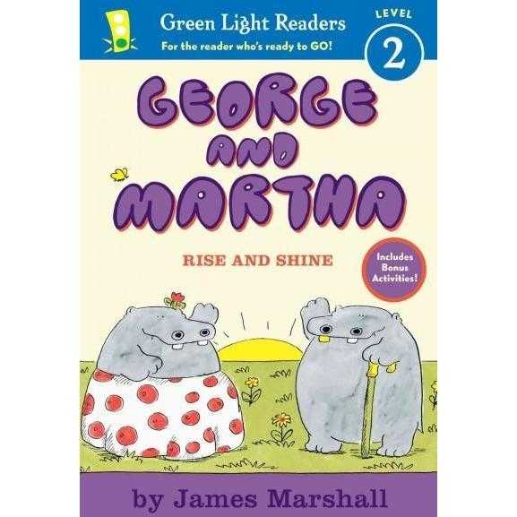 George and Martha Rise and Shine (George and Martha Early Readers) | ADLE International