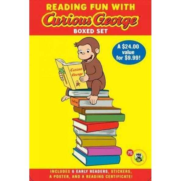 Reading Fun With Curious George (Green Light Readers. Level 1: Curious George) | ADLE International