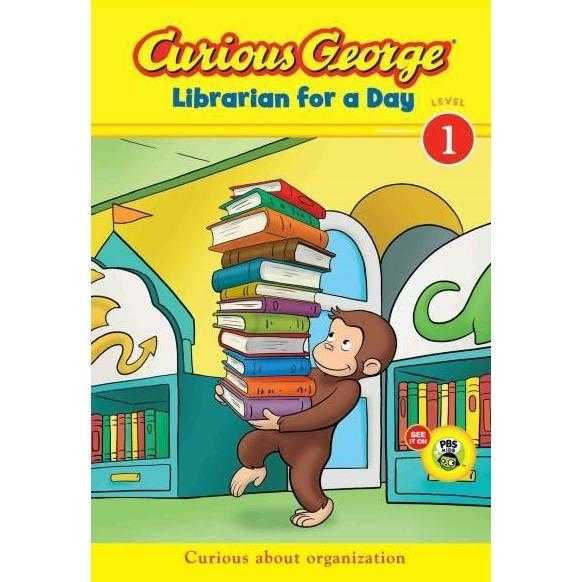 Curious George Librarian for a Day (Curious George Early Readers)