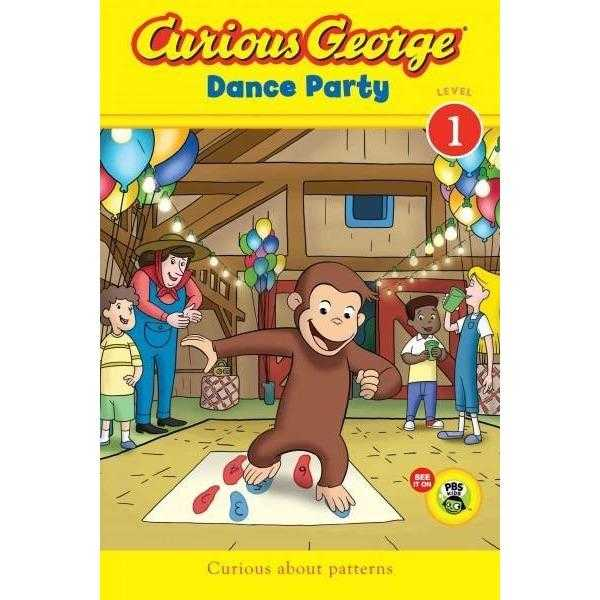 Curious George Dance Party (Green Light Readers. Level 1)