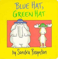 Blue Hat, Green Hat (Boynton Board Books)
