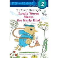 Lowly Worm Meets the Early Bird (Step into Reading) | ADLE International