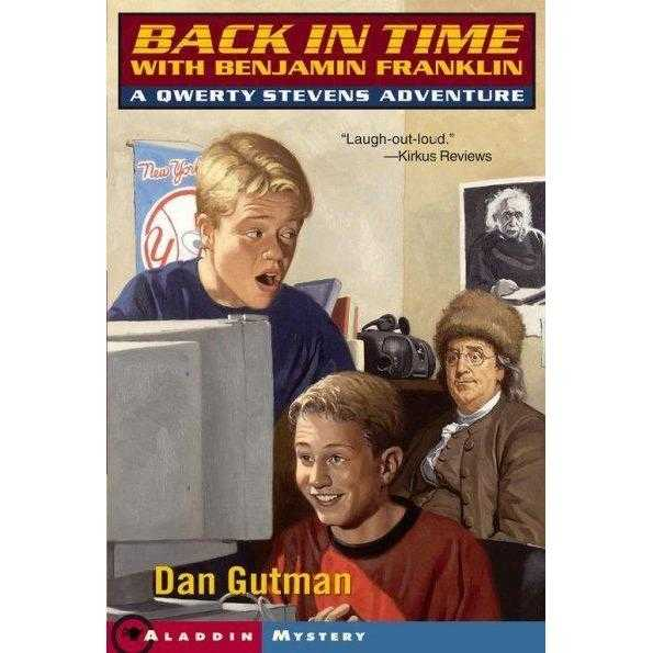 Back in Time With Benjamin Franklin: A Qwerty Stevens Adventure (Qwerty Stevens Adventure)