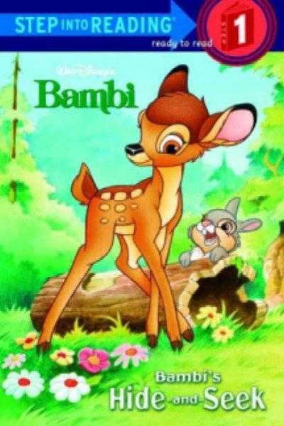 Bambi's Hide-And-Seek (Step Into Reading. Super Early Books)