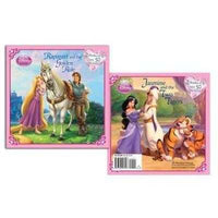 Rapunzel and the Golden Rule/ Jasmine and the Two Tigers (Disney Princess) | ADLE International