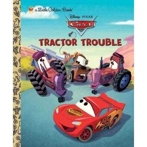 Tractor Trouble (Little Golden Books)