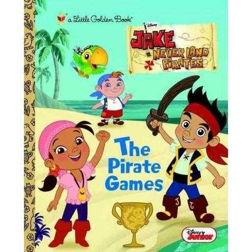 The Pirate Games (Little Golden Books)