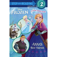 Anna's Best Friends (Step Into Reading. Step 2)
