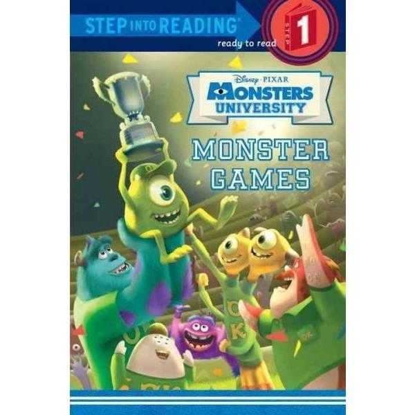 Monster Games (Step Into Reading. Step 1) | ADLE International