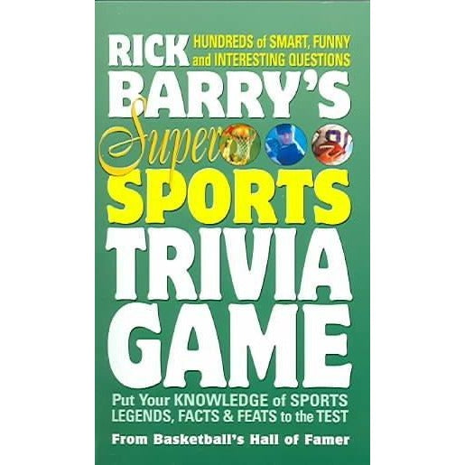 Rick Barry's Super Sports Trivia Game (Buzztime Trivia)
