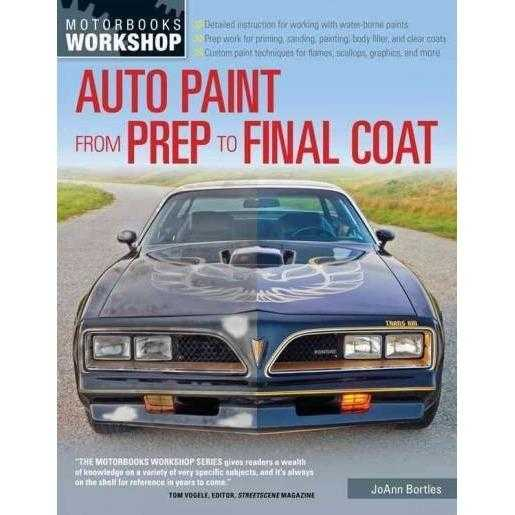 Auto Paint from Prep to Final Coat (Motorbooks Workshop)