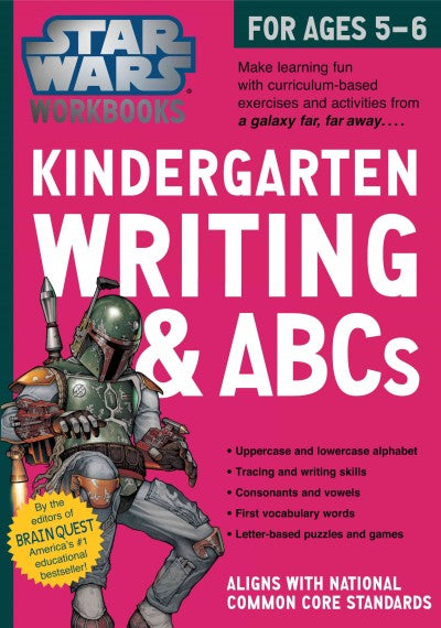 Kindergarten Writing & ABCs (Star Wars Workbooks)