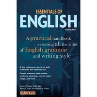 Essentials of English (BARRON'S ESSENTIALS OF ENGLISH)