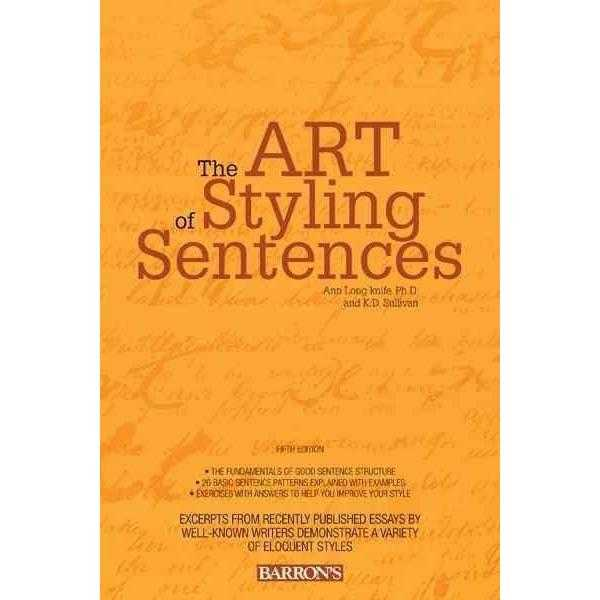 The Art of Styling Sentences: 20 Patterns for Success | ADLE International