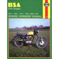 Bsa Unit Singles Owners Workshop Manual, No. 127: '58-'72 (Owners Workshop Manual)