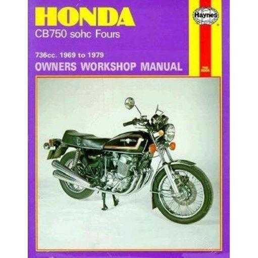 Honda Cb750 Sohc Fours Owners Workshop Manual, No. 131: 736cc '69-'79 (Owners Workshop Manual)