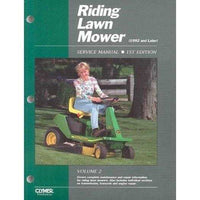 Riding Lawn Mower Service Manual 1992 and Later (RIDING LAWN MOWER SERVICE MANUAL) | ADLE International