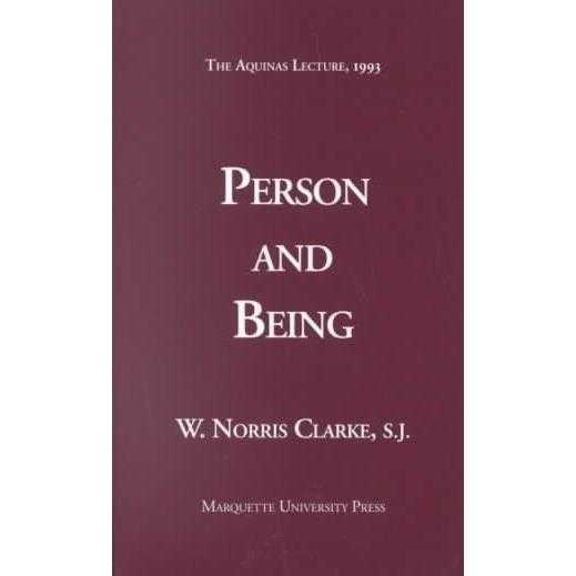 Person and Being (Aquinas Lecture) | ADLE International
