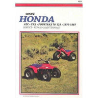 Honda Atc Trx Fourtrax 70-125 1970-1987: Service, Repair, Maintenance | ADLE International