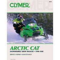 Clymer Arctic Cat: Snowmobile Shoe Manual 1990-1998 | ADLE International