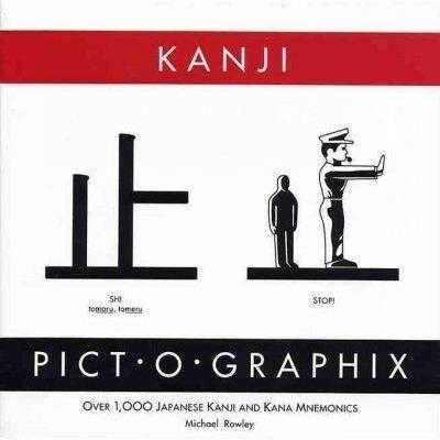 Kanji Pict-O-Graphix: Over 1,000 Japanese Kanji and Kana Mnemonics | ADLE International