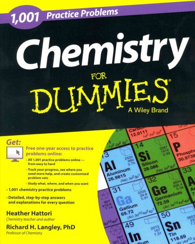 1,001 Chemistry Practice Problems for Dummies (For Dummies (Math & Science))