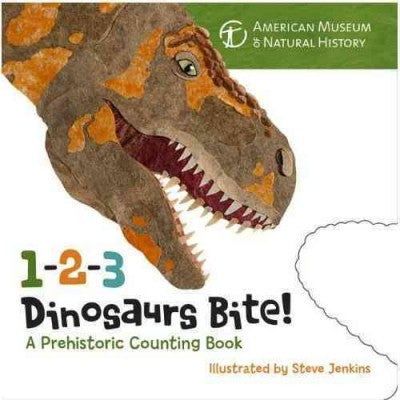 1-2-3 Dinosaurs Bite!: A Prehistoric Counting Book