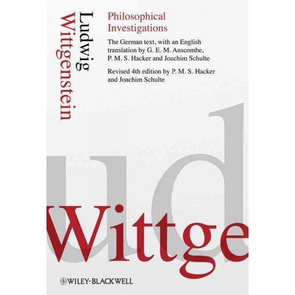 Philosophische Untersuchungen / Philosophical Investigations (GERMAN) | ADLE International