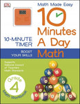 10 Minutes a Day Math Grade 4 (Math Made Easy: 10 Minutes a Day)