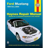 Ford Mustang: 1994 Thru 2004 (Hayne's Automotive Repair Manual)