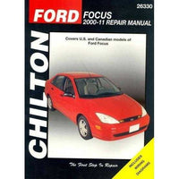 Chilton's Ford Focus 2000-11 Repair Manual: Covers Ford Focus Models (Chilton's Total