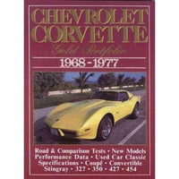 Chevrolet Corvette 1968-77 Gold Portfolio (Gold Portfolio) | ADLE International