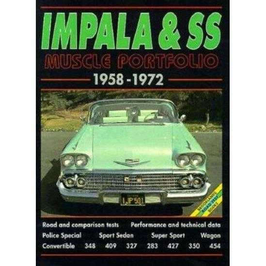 Impala and Ss 1958-1972 Musclecar Portfolio (The Brooklands Musclecar Portfolio Series) | ADLE International