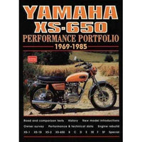 Yamaha Xs-650 1969-1985: Performance Portfolio (Performance Portfolio Series) | ADLE International