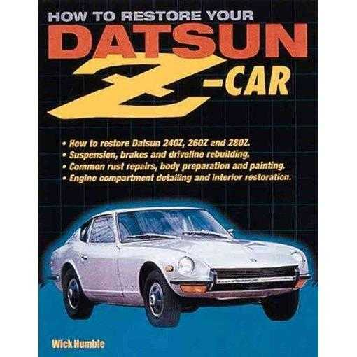 How to Restore Your Datsun Z-Car | ADLE International