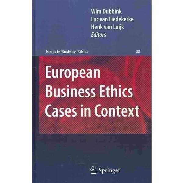 European Business Ethics Cases in Context | ADLE International
