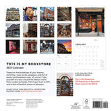 This Is My Bookstore 2021 Wall Calendar: (12-Month Calendar for Book Lovers, Bookshop Photography Monthly Calendar)