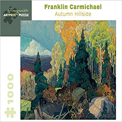 Franklin Carmichael: Autumn Hillside 1,000-Piece Jigsaw Puzzle ( Pomegranate Artpiece Puzzle )
