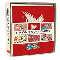 Kimono Note Cards: 6 Blank Note Cards & Envelopes (4 X 6 Inch Cards in a Box)
